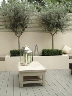 95 Small Courtyard Garden with Seating Area Design Ideas – Backyard Garden Landscaping Urban Garden Design, Contemporary Garden Design, Small Garden Design, Patio Design, Courtyard Design, Exterior Design, Garden Wall Designs, Courtyard Ideas, Wall Exterior