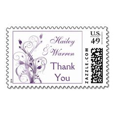 ==>>Big Save on          Purple and White Floral Wedding Thank You Postage           Purple and White Floral Wedding Thank You Postage In our offer link above you will seeShopping          Purple and White Floral Wedding Thank You Postage Online Secure Check out Quick and Easy...Cleck Hot Deals >>> http://www.zazzle.com/purple_and_white_floral_wedding_thank_you_postage-172934714089733000?rf=238627982471231924&zbar=1&tc=terrest
