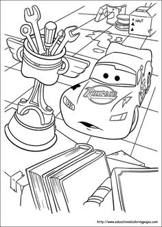 Coloring Pages For Kids Disney Cars