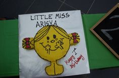 Little miss sunshine cake!