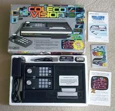 colecovision. Our very first video game system. ☺ I wish we still had this system.