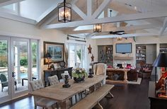 Rustic Chic Living Room | Gallery of Rustic Living Room With A Touch Of Coastal Flavor Design ...
