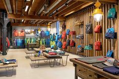 Patagonia, interior design, office, European HeadQuarters, Amsterdam, concept, design, production, visual merchandising #office #showroom