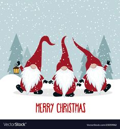 Pin about Christmas cards, Christmas cards drawing and Merry christmas card on Collection Merry Christmas Card, Christmas Gnome, Christmas Images, Christmas Design, Christmas Greeting Cards, Christmas Art, Christmas Decorations, Painted Christmas Cards, Vector Christmas