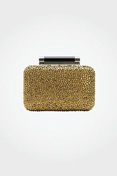 DVF | Tonda Small Crystal Clutch In Gold #EMBELLISHME http://on.dvf.com/PI040813