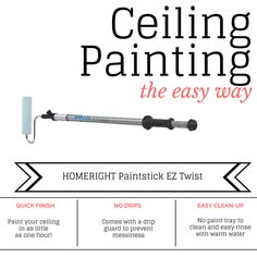 Ceiling Painting the Easy Way | Houseologie