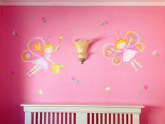 Mural Haditas mariposa