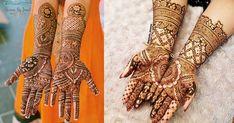 Bridal Mehndi or Henna Designs for Full Hands Henna Designs Feet, Mehndi Designs Book, Legs Mehndi Design, Modern Mehndi Designs, Bridal Henna Designs, Mehndi Designs For Girls, Mehndi Design Photos, Dulhan Mehndi Designs, Henna Mehndi