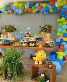 Baby First Birthday Boy Diy Party Themes Best Ideas Dinosaur First Birthday, Baby First Birthday, 3rd Birthday Parties, Dinosaur Party, 3 Year Old Birthday Party Boy, Birthday Ideas, Diy Party Themes, Party Decoration, Ideas Party