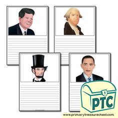 Presidents' Day Resources - Primary Treasure Chest Teaching Activities, Teaching Resources, Teaching Ideas, Ourselves Topic, Pre Kindergarten, Presidents Day, Role Play, Treasure Chest, Elementary Schools