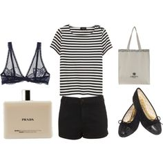 Perfect look for my Paris inspired by the simple looks of Nicole Bridger