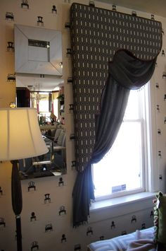 Gorgeous Lambrequin Window Treatment