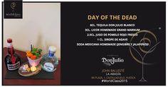 Day of the dead: Receta presentada por John Ballesté para la competición de coctelería #WorldClass2015 con Tequila Don Julio. Podrás probarla en Ra Plaza, 1, Castillazuelo