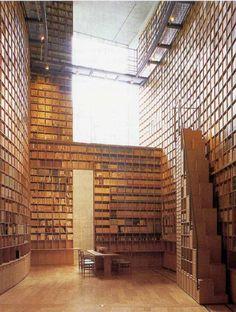 Shiba Ryōtarō Memorial Museum Library in Higashiosaka, Japan