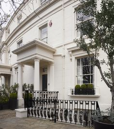 London townhouse, terraced houses, Kensington, Edwardian houses, Georgian houses,