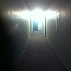 Walking down the hallway, snapped this pic.