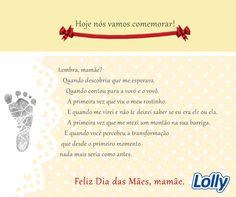 Feliz dia das Mães! #lolly #homenagem #DiadasMães