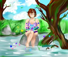Summer by Deadmaneko.deviantart.com on @DeviantArt