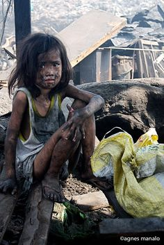 Manila - my heart is so sad for all the children that are deprived of a happy and secure childhood.