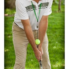 PureShot Sync Ball - Golf Training Aid by PureShot Golf by PureShot Golf. PureShot Sync Ball - Golf Training Aid by PureShot Golf Golf Swing Training Aids, Golf Websites, Swing Trainer, Crazy Golf, Golf Putting Tips, Used Golf Clubs, Golf Instruction, Golf Tips For Beginners, Perfect Golf