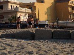 Soccer Playing on the beach, Spadafora Messina
