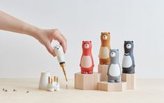 Unbearably Cute Tools | Yanko Design