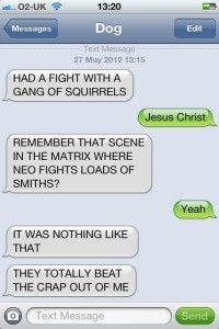 Funny Texting Fail