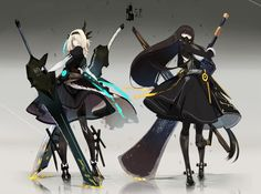 Girl with big twinswords Character Design Cartoon, Fantasy Character Design, Character Design References, Character Design Inspiration, Game Character, Character Concept, Concept Art, Girls Characters, Fantasy Characters