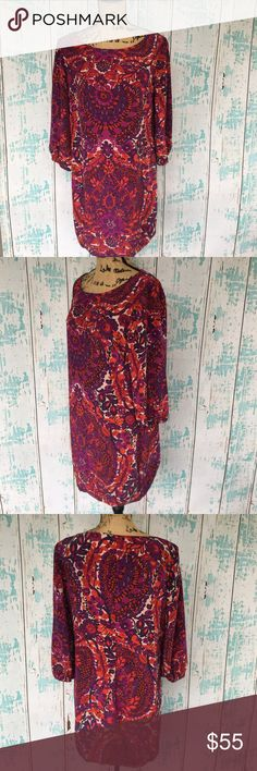 """Trina Turk silk dress size 10 Trina Turk silk dress size 10   🌵Bundle deals available. I carry various sizes/brands. 🌵No trades, holds, or modeling. 🌵All reasonable offers accepted only through """"offer"""" button. No lowball offers please. Please submit final offer willing to pay as I prefer to not counteroffer. 🌵Happy Poshing! Trina Turk Dresses"""