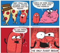 The Awkward Yeti, when the tongue has gone haywire and tells the brain what to do?