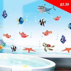 Checkout this new stunning item Wonderful Sea world removable 3d vinyl wall art stickers window decals bathroom decor decoration stickers for nursery kids,New! - US $3.39 http://globalselling2.info/products/wonderful-sea-world-removable-3d-vinyl-wall-art-stickers-window-decals-bathroom-decor-decoration-stickers-for-nursery-kidsnew/