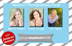 Awesome newborn photographers share their secrets!