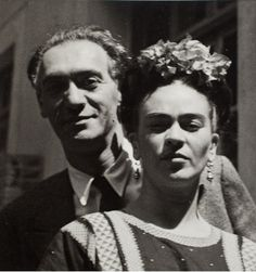 Frida Kahlo and her lover, the American photographer Nickolas Murray - 1939 - Photo: Courtesy of Artisphere