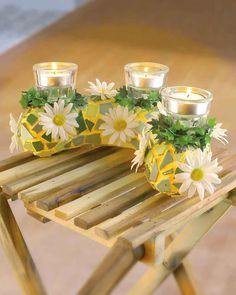 ©efco-freizeit-engel.de Teelichthalter aus Mosaik