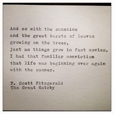 summer the great gatsby