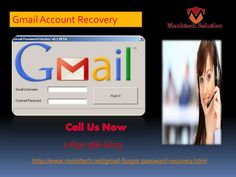Is Gmail Account Recovery 1-850-366-6203 really tough? Nope, Gmail Account Recovery isn't really tough because you need to follow some easy steps which are provided by our experts, all you need to do is to implement those steps carefully. So, move your fingers on your Smartphone keypad and make a call at 1-850-366-6203 to reach to our experts who are always ready to help you. http://www.monktech.net/gmail-forgot-password-recovery.html