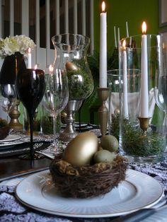 Gorgeous setting for a sophisticated Easter soirée!