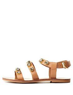 REPORT SIGNATURE STRAPPY RHINESTONE SANDALS #strappy #rhinestone #sandals #CRshoecloset