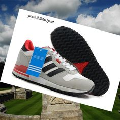 Adidas Zx 700 Running Q34280 Shoes Blue Red White Navy View Cheap