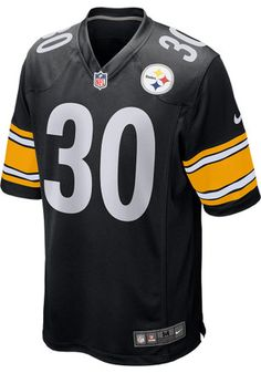 30149a0153b James Conner Nike Pitt Steelers Mens Black 2017 Home Jersey Pittsburgh  Steelers Merchandise