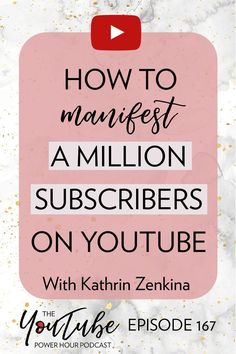 Manifestation Babe, Kathrin Zenkina, gives you the steps to manifestation success today! Marketing Software, Marketing Tools, Social Media Marketing, Marketing Ideas, Internet Marketing, Digital Marketing, Youtube Hacks, You Youtube, Youtube Style