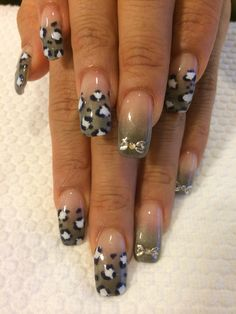 Leopard black tone