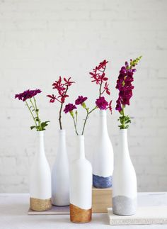 Easy Ways to Upcycle Empty Wine Bottles