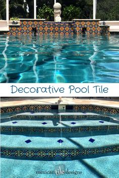 Decorative Pool Tile Mesmerizing Persian Carpet Pool Made With Ceramic Tilesgraig Bragdy Design Design Inspiration