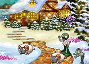 Navidad PlantsvsZombies   Juegos Plants vs Zombies - jugar gratis