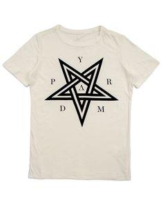 Pentagram Tee Off White | PYRAMID BRAND