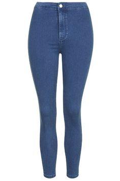 PETITE MOTO Pretty Mid-Stone Joni Jeans