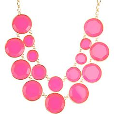 Kate Spade New York Baublebox Bib Necklace