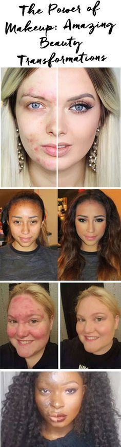 Beautiful both with and without makeup, check out these incredible transformations! #ThePowerofMakeup http://blog.pampadour.com/the-power-of-makeup-amazing-beauty-transformations/