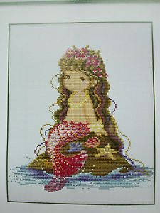 "a new beautiful, cross stitch kit.                                                                                          Design count: 120sts wide X 130sts high  Fabric Size: 36m X 38cm / Inch: 14"" X 15"" Fabric: 11-count white aida   Contains: 11-count cotton Aida fabric, 6-strand cotton floss, needles, graph."